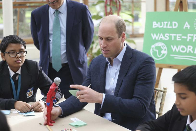 Książę William /POOL Daily Mirror/Associated Press/East News /East News