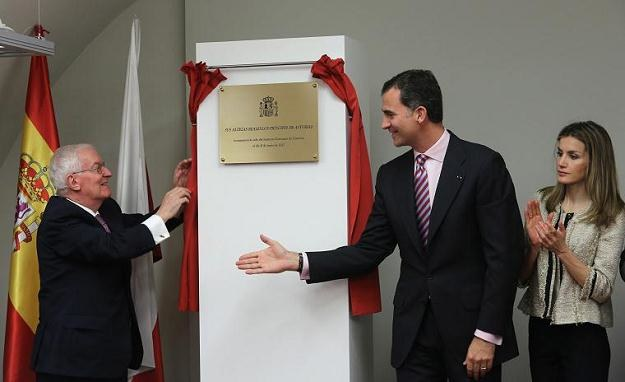 Książęca para Asturii otworzyła w Krakowie placówkę Instytutu Cervantesa/fot. Jacek Bednarczyk /PAP
