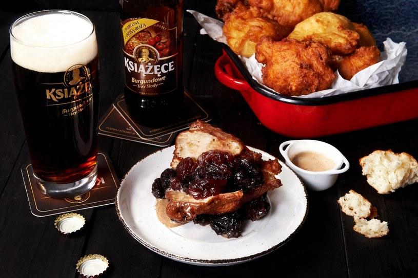 Książęce Burgundowe warto serwować do dań mięsnych i przekąsek /materiały prasowe