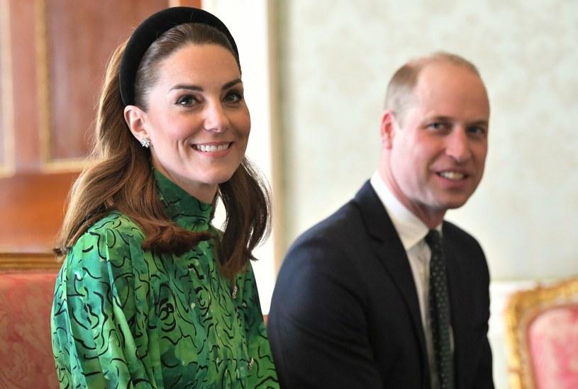 Książęta Cambridge podczas wizyty w Irlandii /Rex Features /East News