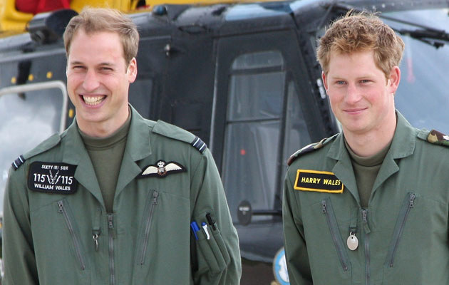 Książęta William i Harry, fot. Chris Jackson  /Getty Images/Flash Press Media
