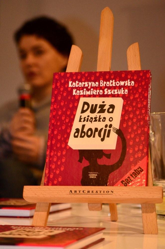 Książka Katarzyny Bratkowskiej i Kazimiery Szczuki /East News
