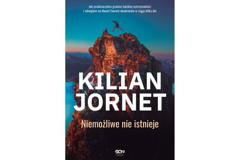 """Książka """"Kilian Jornet. Niemożliwe nie istnieje"""" ukazała się na rynku nakładem wydawnictwa SQN /materiały prasowe"""