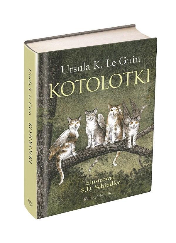 Książka nie jest przeznaczona tylko dla miłośników kotów /materiały prasowe