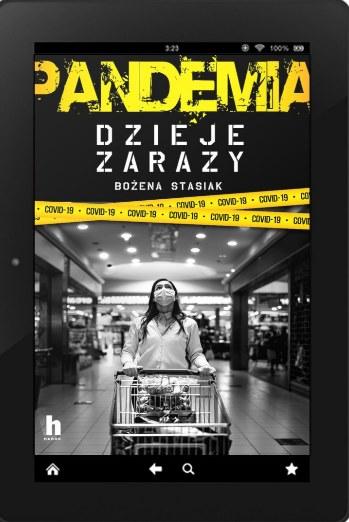 """Książka """"Pandemia. Dzieje zarazy"""" jest dostępna w formie e-booka /materiały prasowe"""