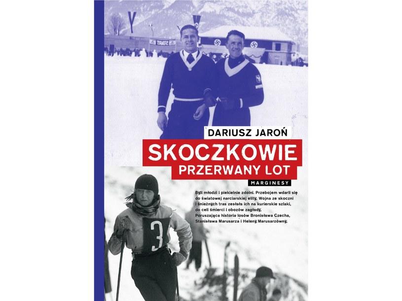 """Książka """"Skoczkowie. Przerwany lot"""" ukazała się nakładem wydawnictwa Marginesy /materiały prasowe"""