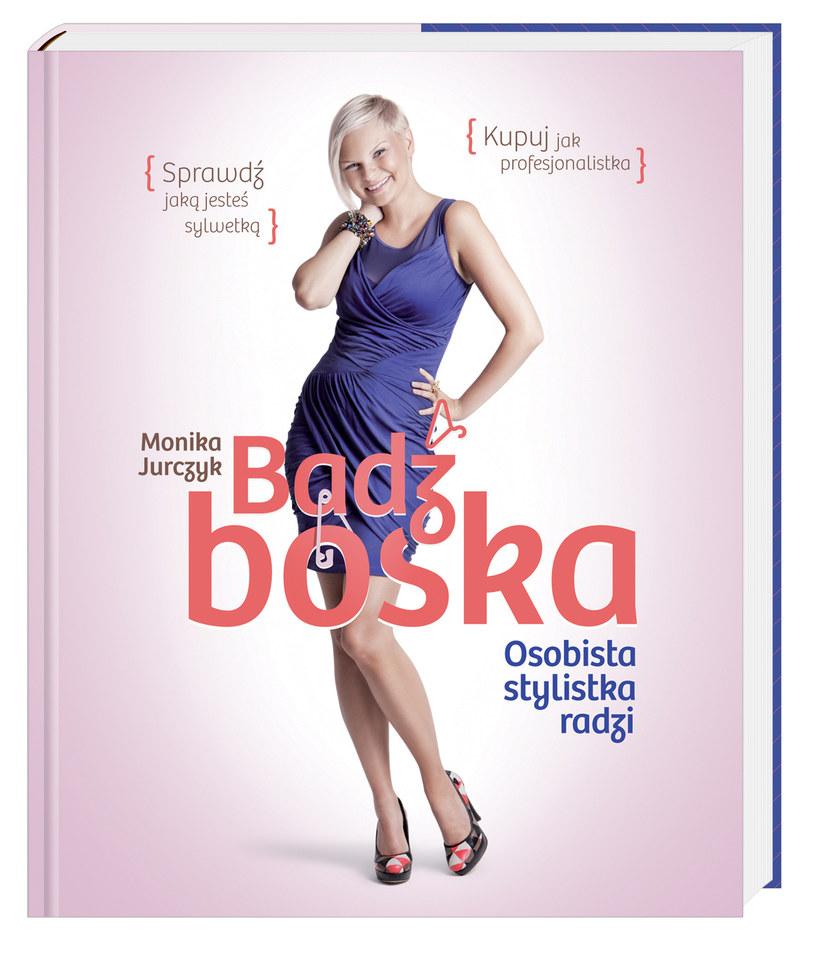 Książka zawiera analizę typów sylwetek i proste rady, jak kupować ubrania odpowiednie dla siebie /materiały prasowe