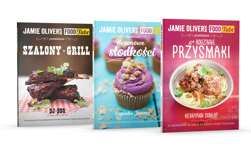 Książki Jamiego Olivera /Styl.pl/materiały prasowe