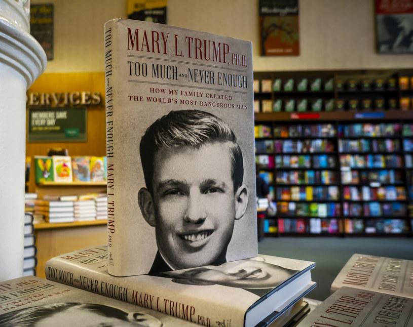 Książki Mary Trump /Richard B. Levine/Sipa USA /East News