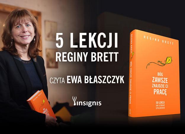 Książki Reginy Brett mają status bestsellerów /materiały prasowe