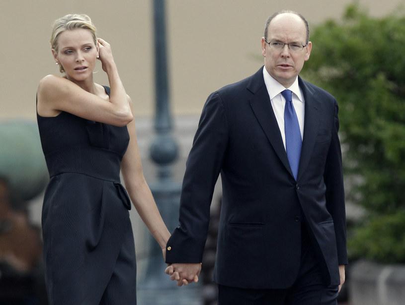 Książna Charlene i Albert II, 2011 r. /AP /East News