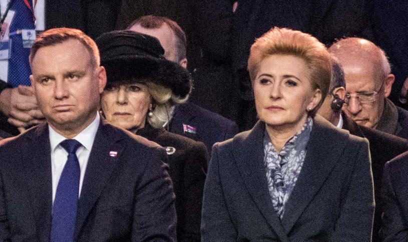 Księżna Camilla, Andrzej Duda i Agata Kornhauser-Duda /Jan Graczyński /East News