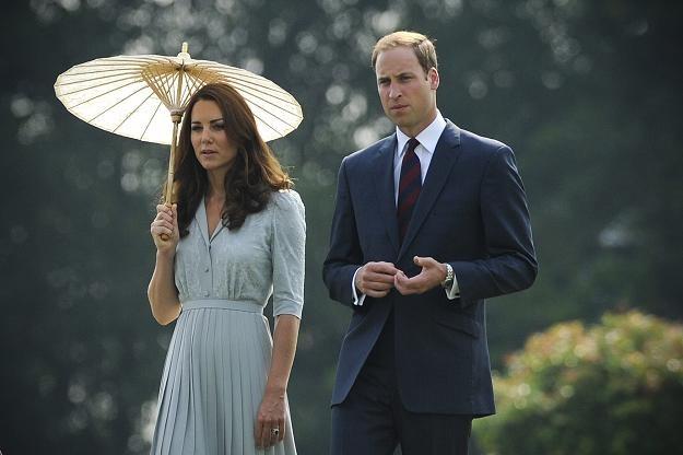 Księżna Catherine i książę William /PAP/EPA