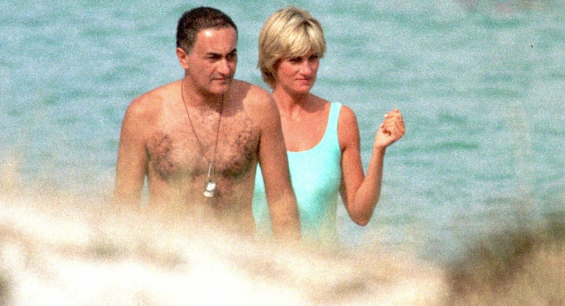 Księżna Diana i Dodi Al-Fayad /Splash News /East News