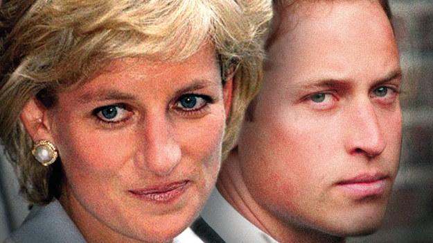 Księżna Diana i jej syn William /fot  /TVP