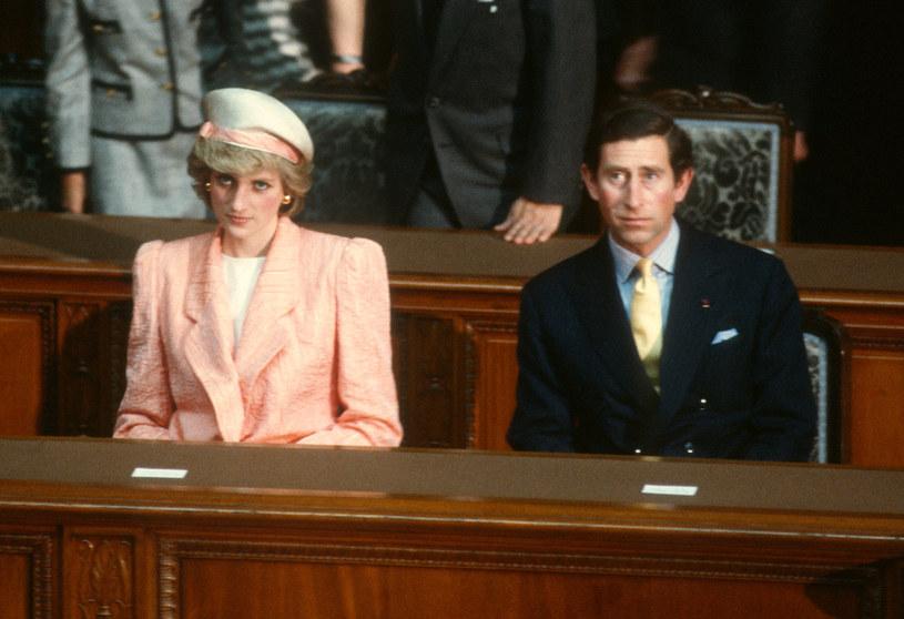 Księżna Diana i książę Karol /Anwar Hussein / Contributor /Getty Images