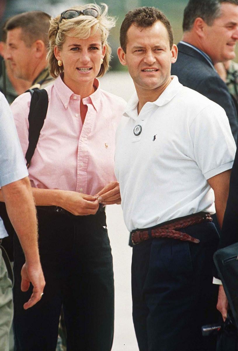 Księżna Diana i Paul Burrell /East News