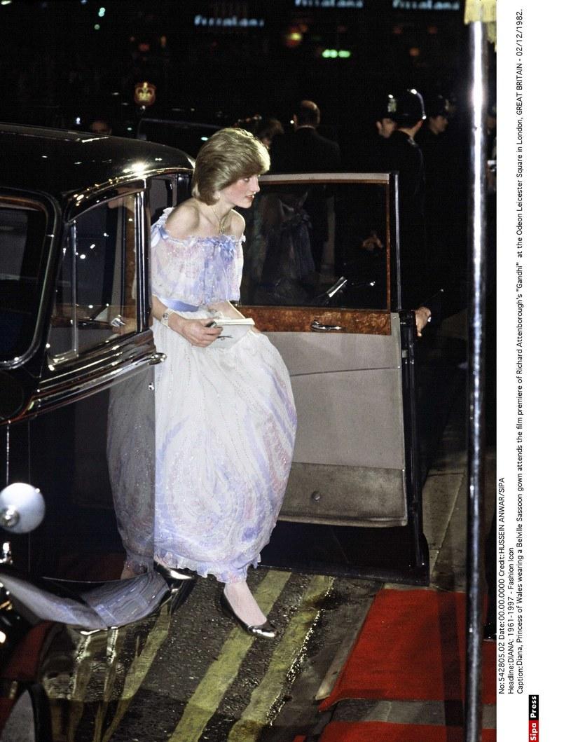 Księżna Diana lubiła balowe suknie. Podobnie jest w przypadku Kitty /HUSSEIN ANWAR/SIPA /East News