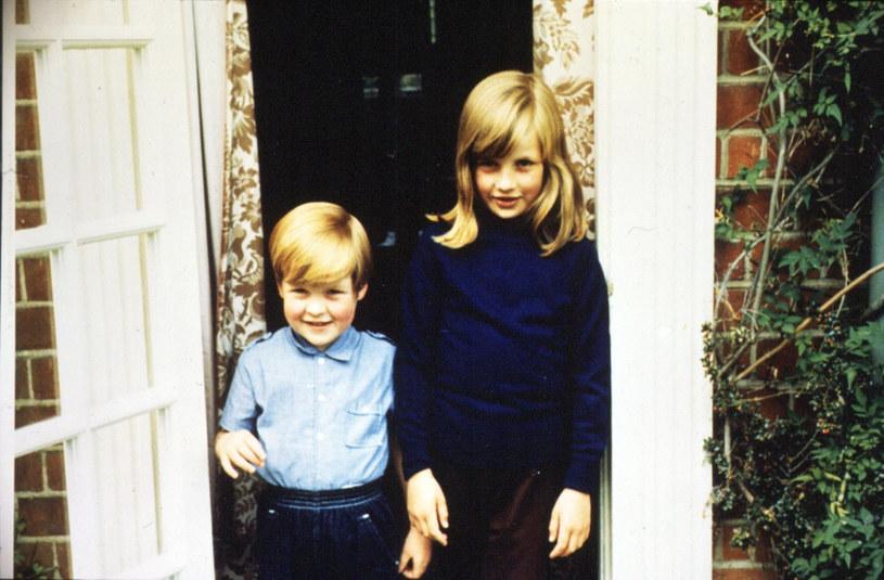 Księżna Diana z bratem Charlesem /PRESS ASSOCIATION    /East News