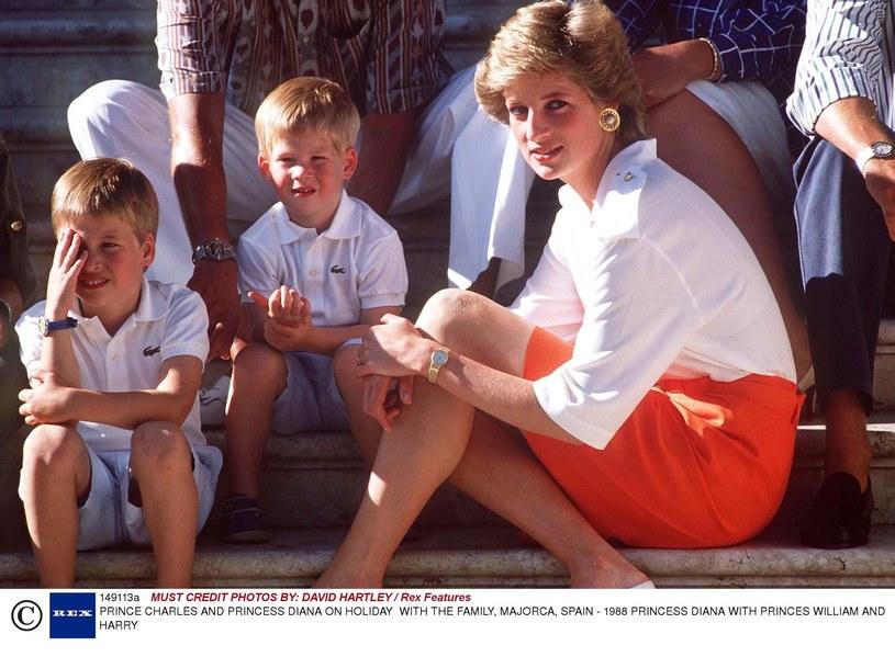 Księżna Diana z dziećmi /East News