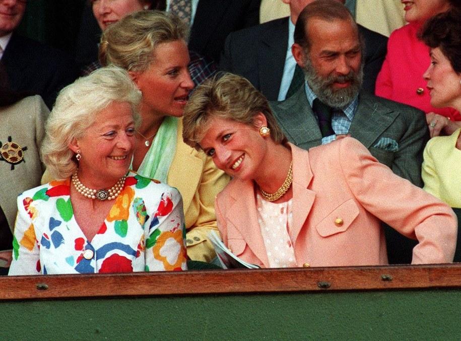 Księżna Diana z matką / STR   /PAP/PA