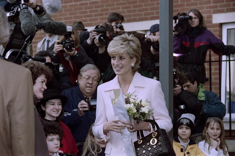 Księżna Diana. Zdjęcie z marca 1996 roku /GERRY PENNY /AFP