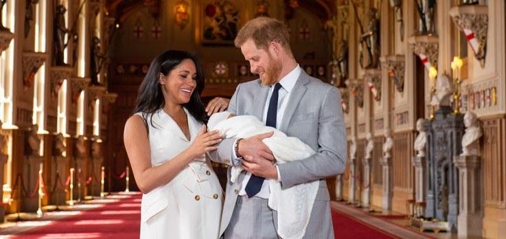 Księżna i książę Sussex pochwalili się nowym zdjęciem syna /Getty Images