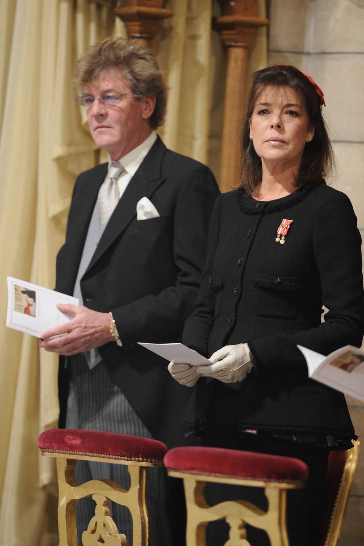 Księżna Karolina z mężem  /Getty Images/Flash Press Media