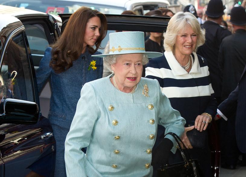 Księżna Kate, Elżbieta II i Camilla /- /Getty Images