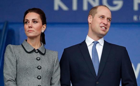 Księżna Kate i i książę William /Getty Images