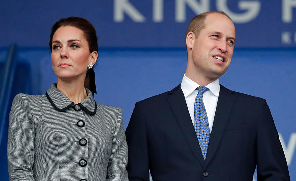 Księżna Kate i i William, książę Cambridge /Getty Images