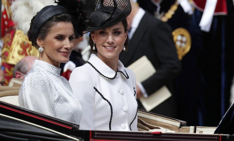 Księżna Kate i królowa Letizia preferują podobny styl /WPA Pool /Getty Images