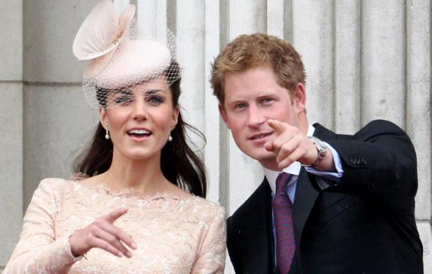 Księżna Kate i książę Harry /Oli Scraff /Getty Images