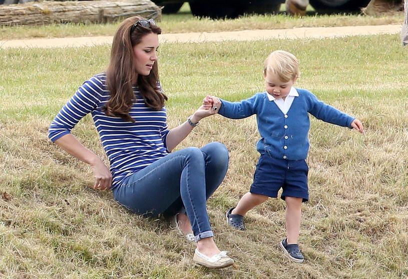 Księżna Kate i książę Jerzy /Chris Jackson /Getty Images