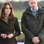 Księżna Kate i książę William musieli w pośpiechu uciekać z domu