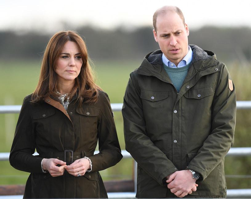 Księżna Kate i książę William nie komentują doniesień /Pool / Samir Hussein /Getty Images