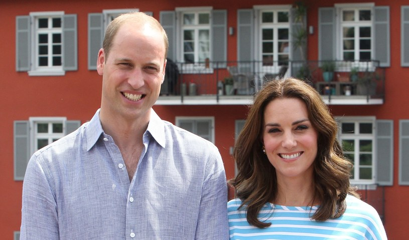 Księżna Kate i książę William nie posiadają się ze szczęścia /East News