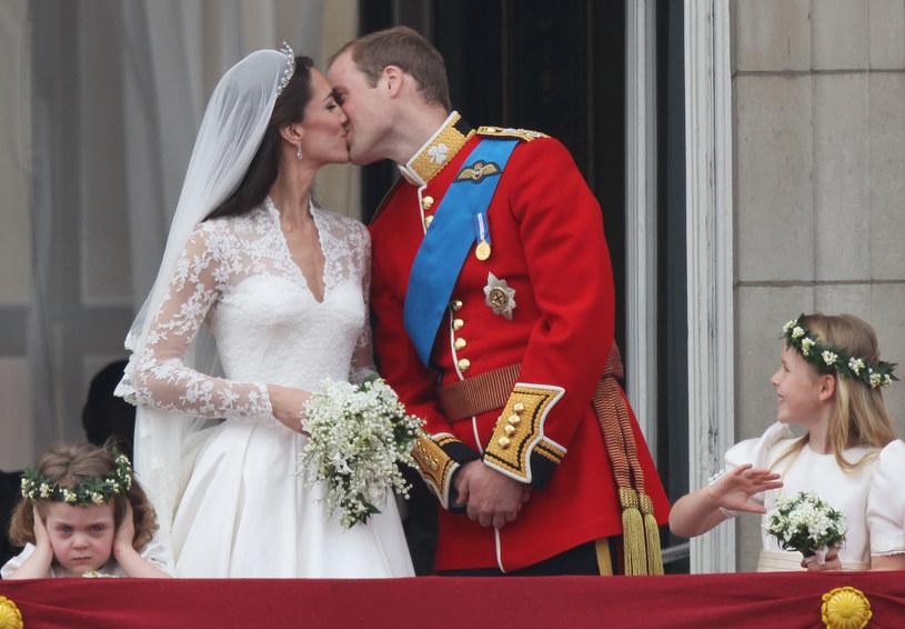 Księżna Kate i książę  William obchodzą dziesiątą rocznicę ślubu /Getty Images