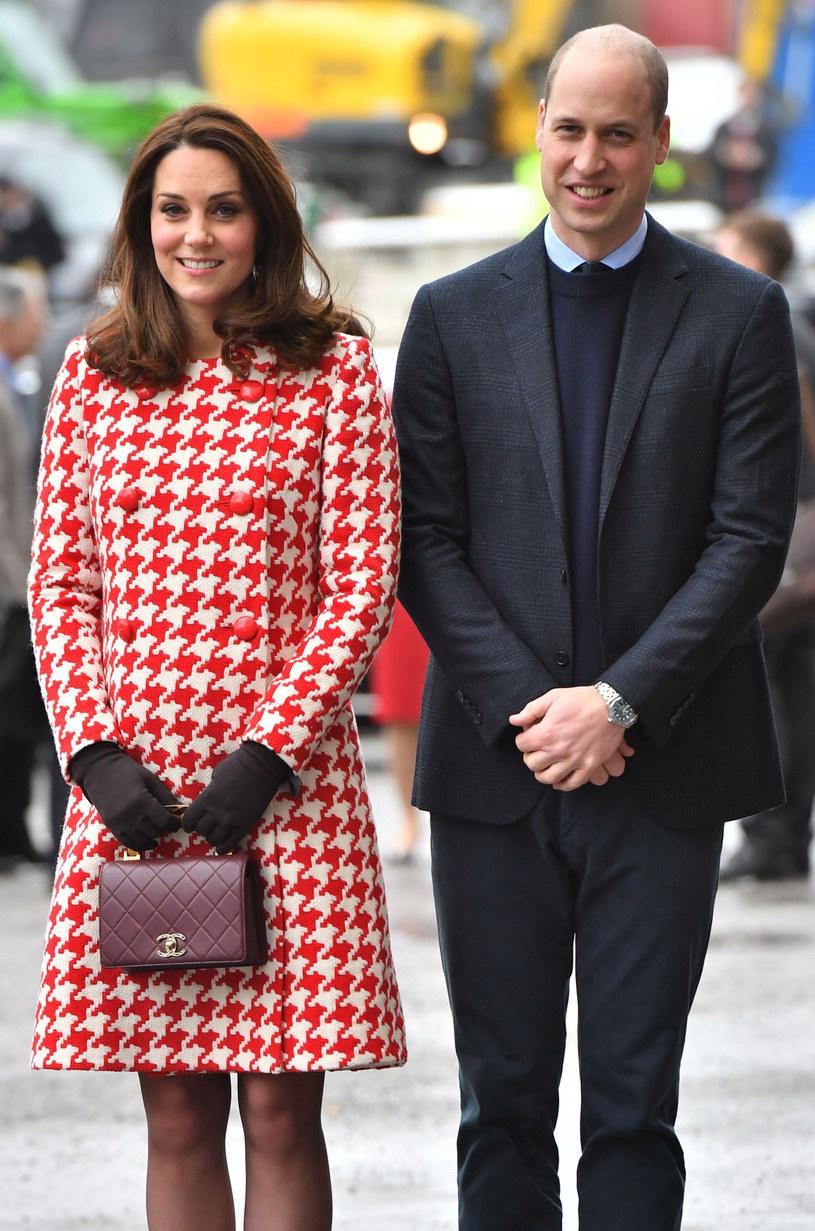Księżna Kate i książę William podczas oficjalnej wizyty w Szwecji /East News