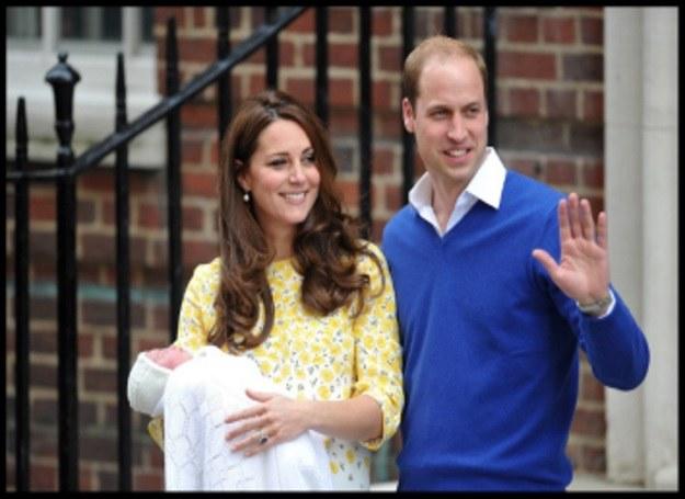 Księżna Kate i książę William pokazali córeczkę /Picsel /123RF/PICSEL
