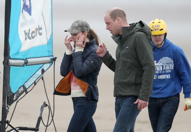 Księżna Kate i książę William przebywają obecnie z oficjalną wizytą w Szkocjii świetnie się tam bawią /East News