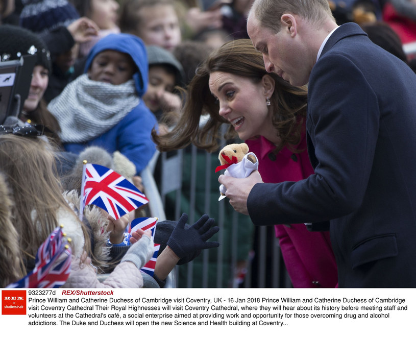 Księżna Kate i książę William /REX/Shutterstock /East News