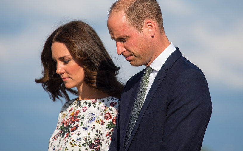 Księżna Kate i książę William /Pool /Getty Images