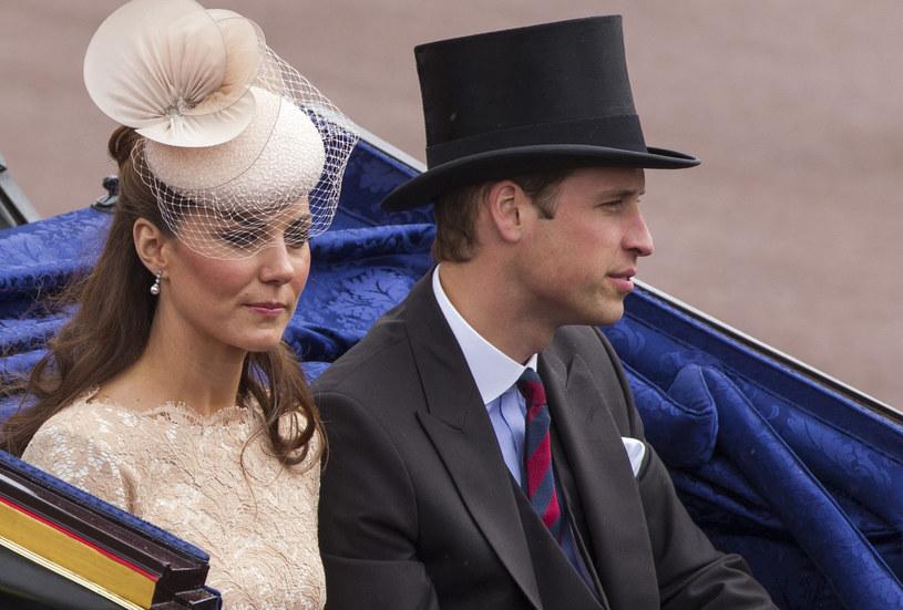 Księżna Kate i książę William /Agencja FORUM
