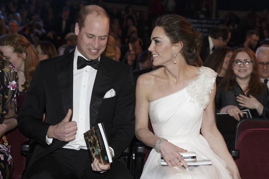 Księżna Kate i książę William /Tim Ireland /PAP/EPA