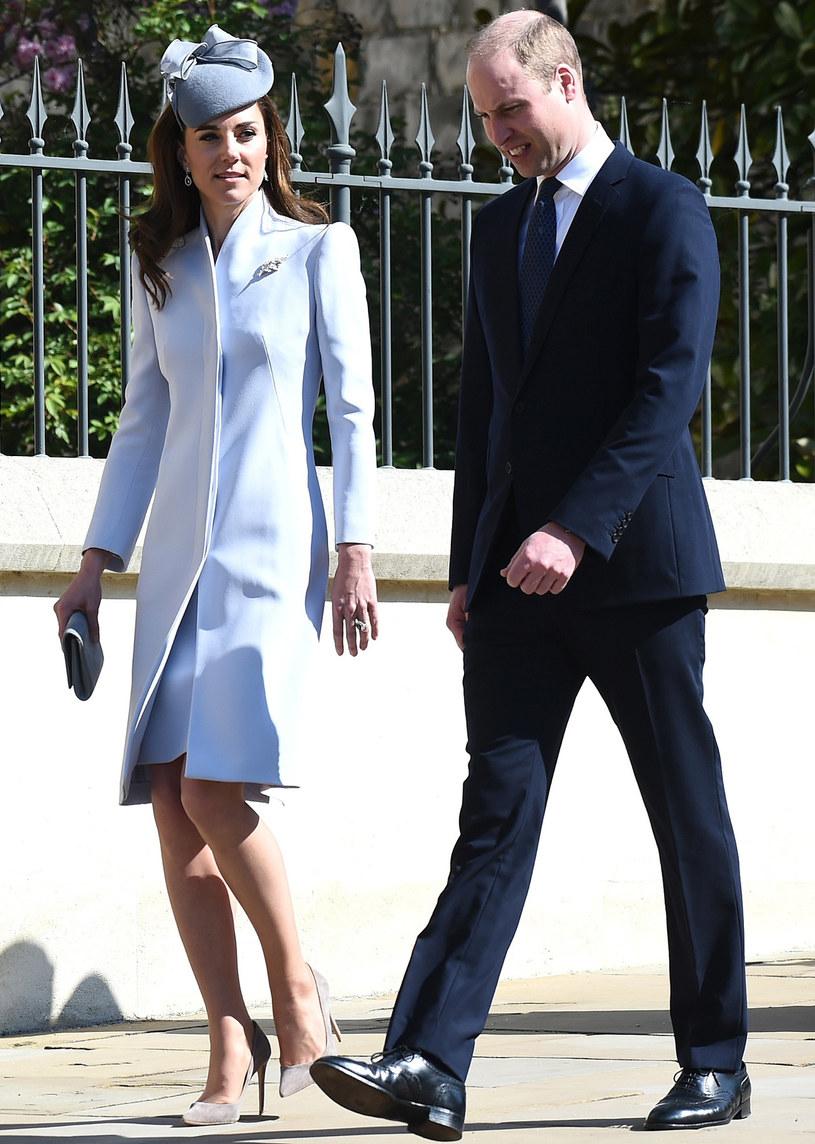 Księżna Kate i książę William /Splash News /East News