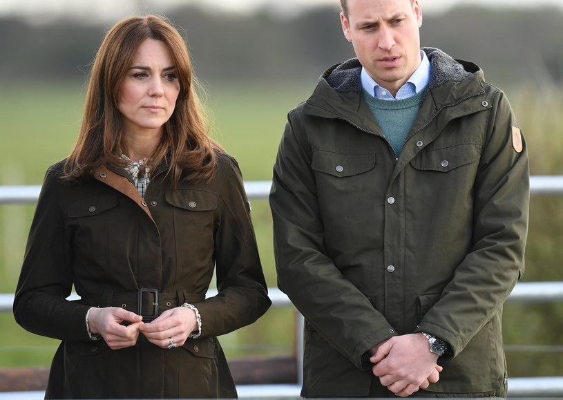 Księżna Kate i książę William /Pool / Samir Hussein /Getty Images