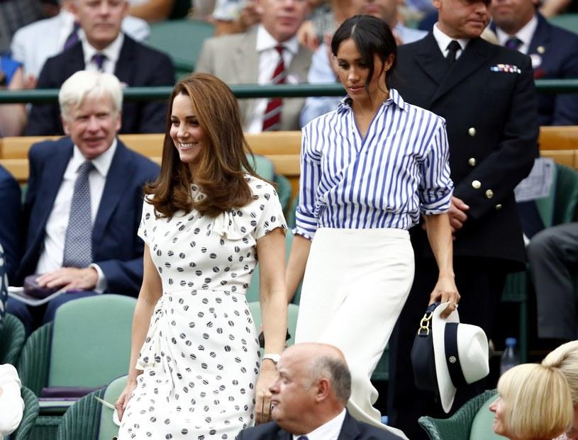 Księżna Kate i księżna Meghan /East News