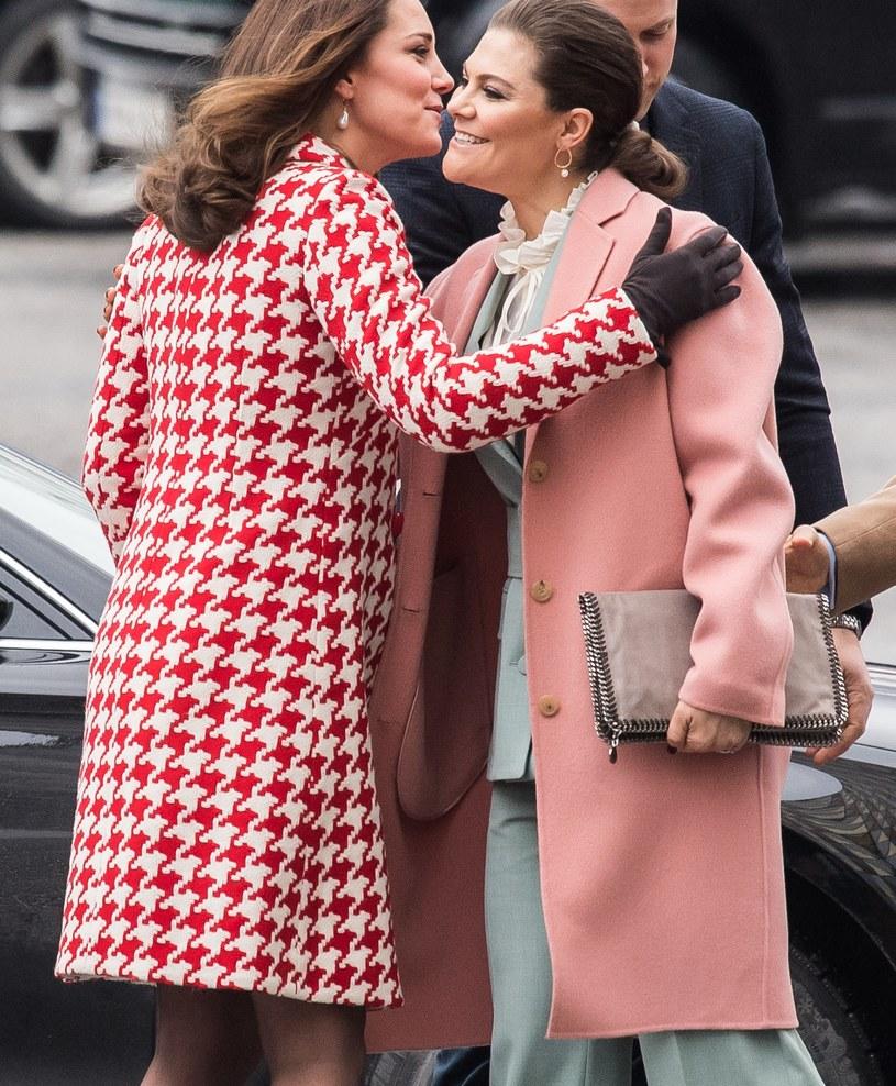 Księżna Kate i księżniczka Wiktoria /Samir Hussein /Getty Images