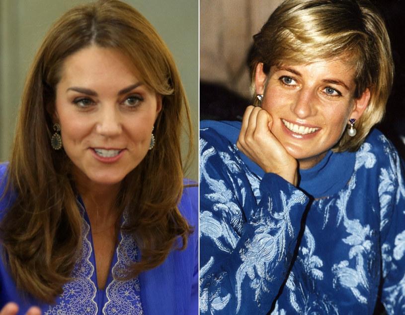Księżna Kate i Lady Diana w najmodniejszym kolorze przyszłego roku /PRESS ASSOCIATION    /East News